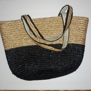 Handbags - Straw beach bag